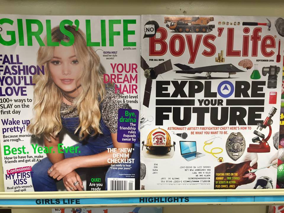 Boys vs Girls - gender roles