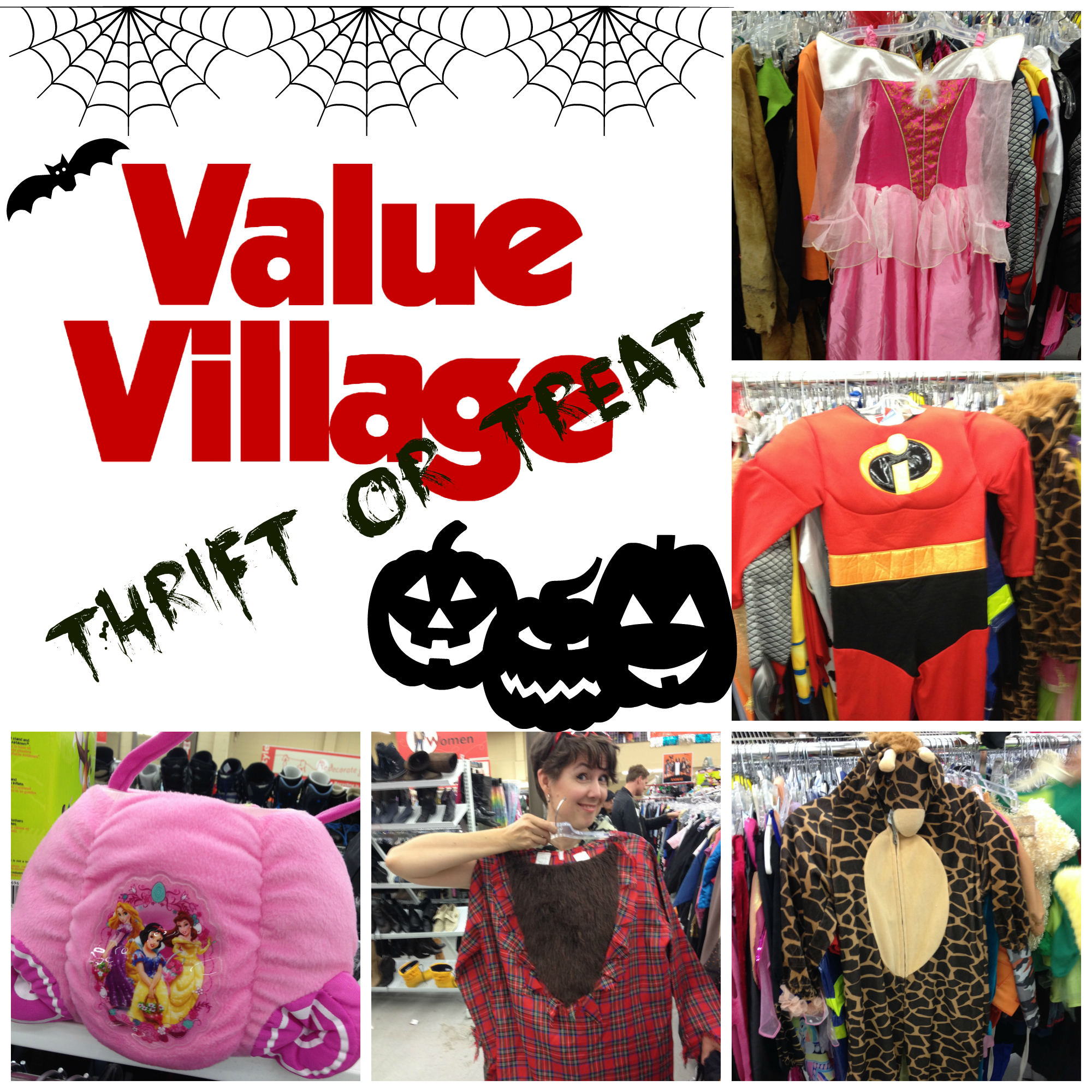 Value Village #ThriftorTreat Collage on Life, Love and the Pursuit of Play