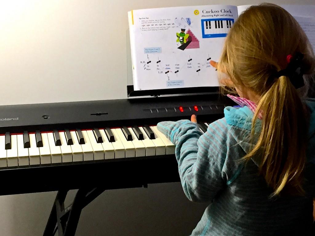 Adri's Piano Lesson at Creativ Music Centre