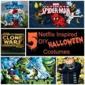 Netflix Inspired DIY Halloween Costumes