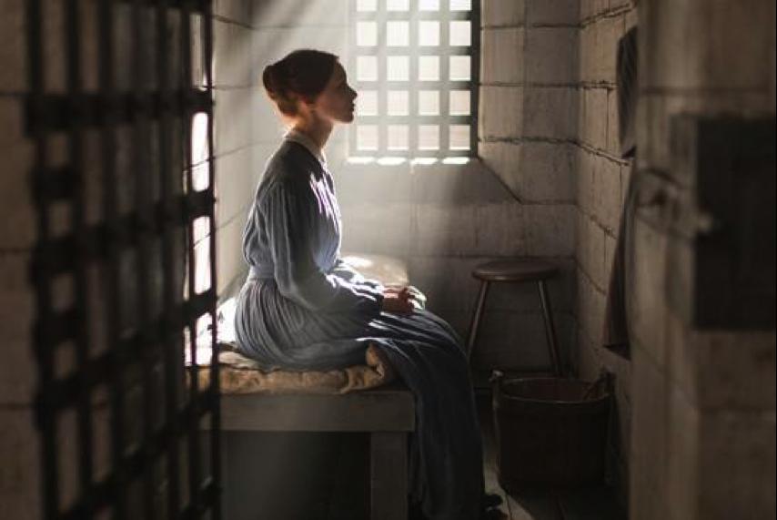 Sarah Gadon as Grace Marks in ALIAS GRACE, courtesy of CBC/Netflix (Photo Credit: Sabrina Lantos)